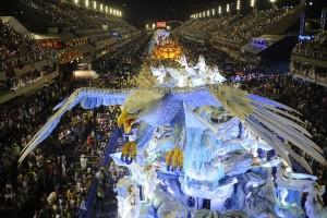 Carroza en carnaval de Río